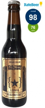 Lervig/Eviltwin Big Ass Money Stout 2 0,33 ltr