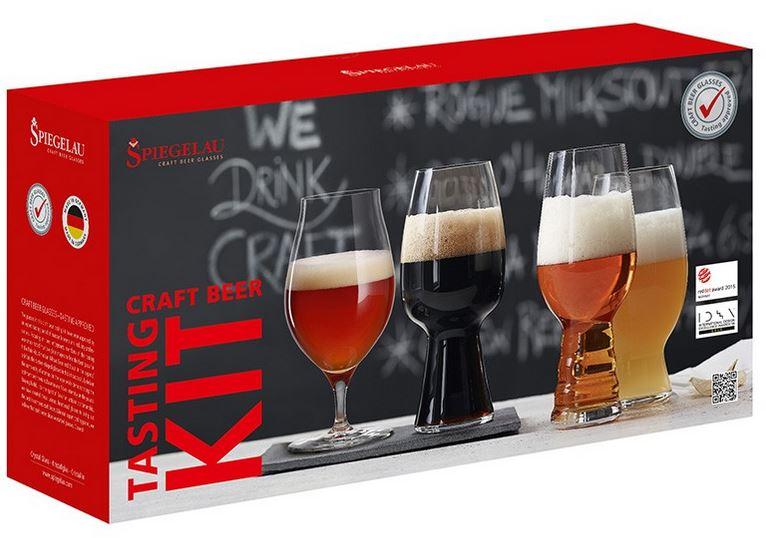 craft bier g nstig online bestellen craft beer tasting kit 4tlg spiegelau. Black Bedroom Furniture Sets. Home Design Ideas