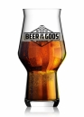 Beer of the Gods / Bierglas Craftmaster One 330ml - Wackenbrauerei
